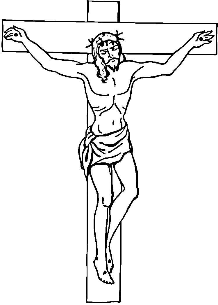 coloring pages cross - photo#32