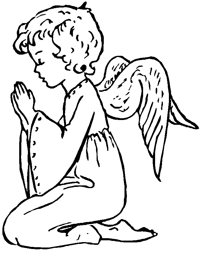 Free Printable Angel Coloring Pages AZ Coloring Pages