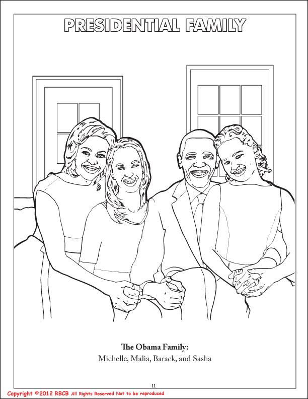 Michelle Obama Coloring Pages - AZ Coloring Pages