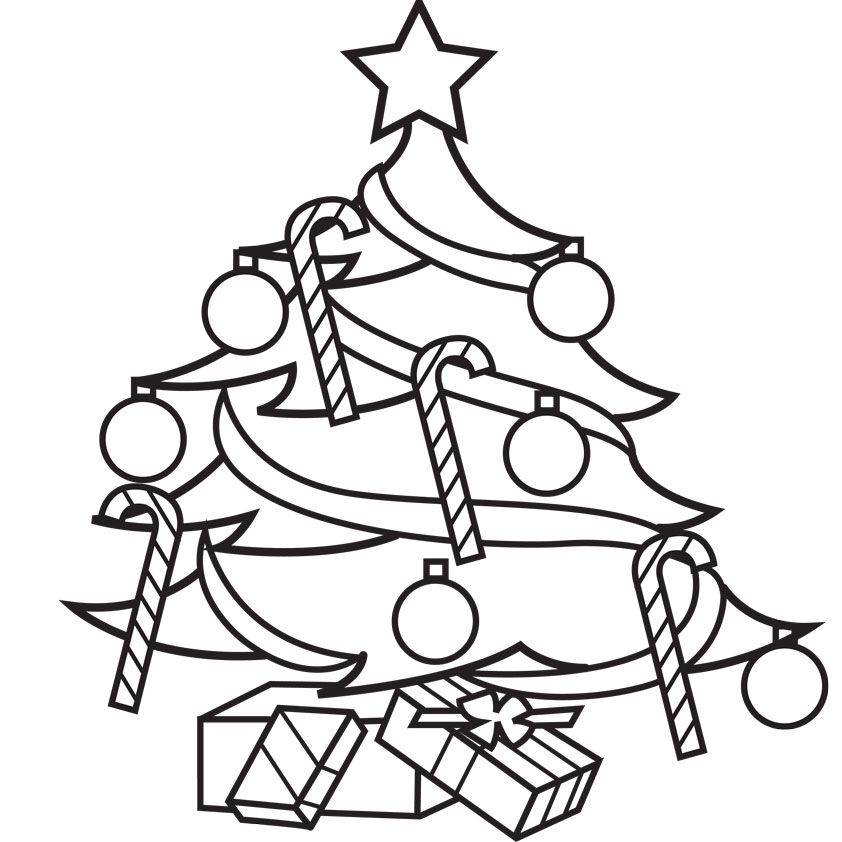 free christmas cartoon coloring pages - photo#24