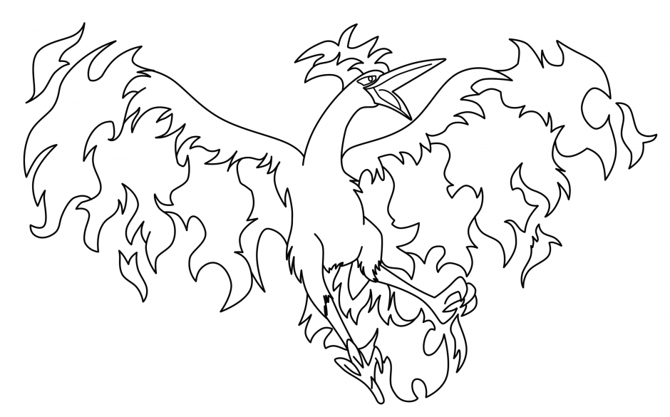 all legendary pokemon coloring pages - photo#18