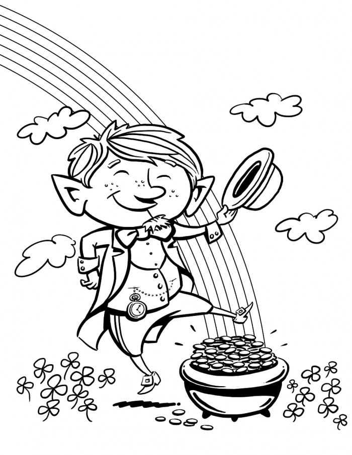 Colouring Pages Ireland : Ireland coloring page for kids az pages