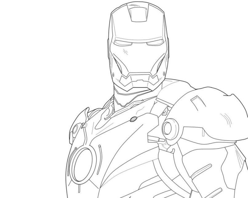 Iron Man Coloring Pages For Kids Free Coloring Pages For