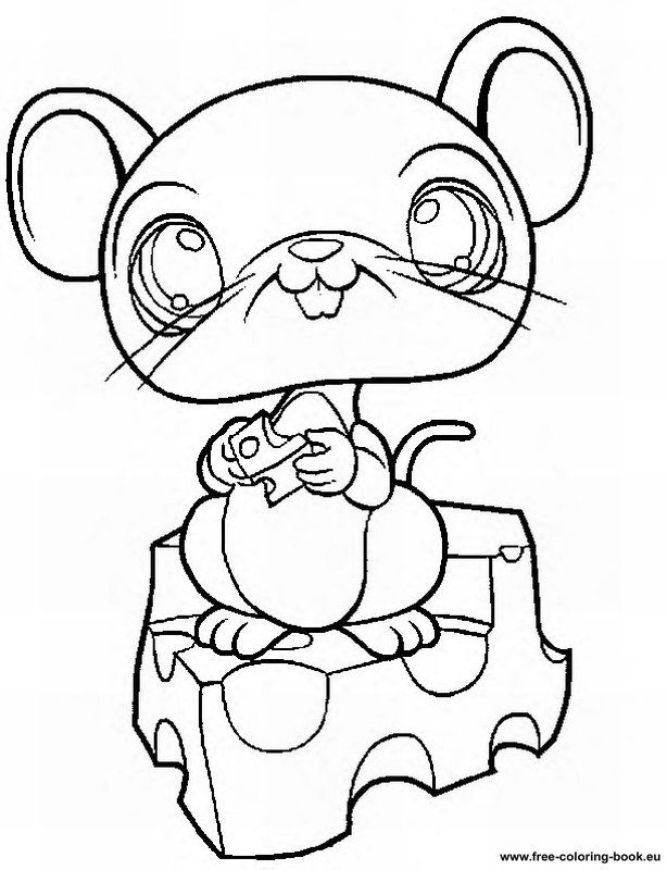 Free littlest pet shop coloring pages az coloring pages - Coloriage lps ...