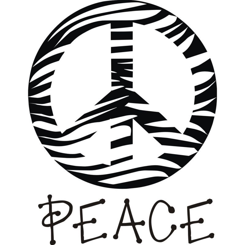 peace sign printable popular peace coloring pages