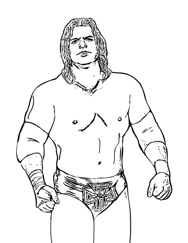 Wwe printable coloring pages az coloring pages for Wwe coloring pages 2015