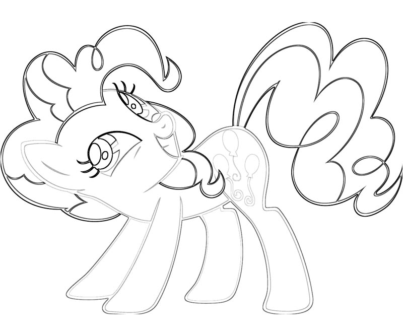 10 Pinkie Pie Coloring Page