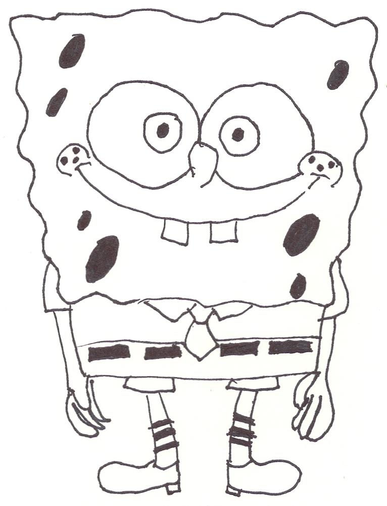 Picture Of Sponge Bob Square Pants
