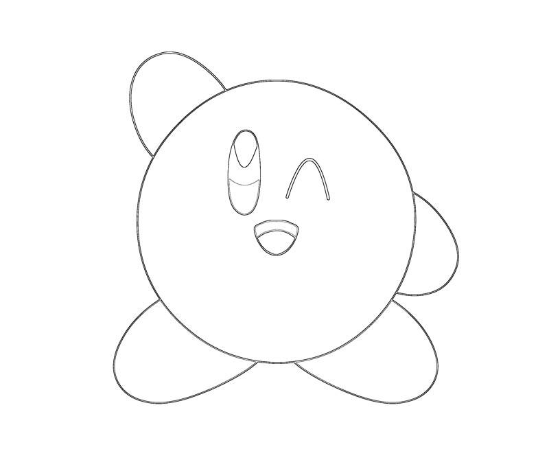 Disclaimer Earnings Kirby Coloring Pages 800 X 667 39 Kb Jpeg