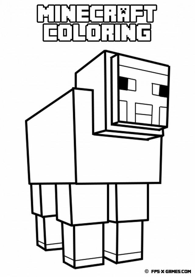 Minecraft Color Page - AZ Coloring Pages Minecraft Spider Coloring Page