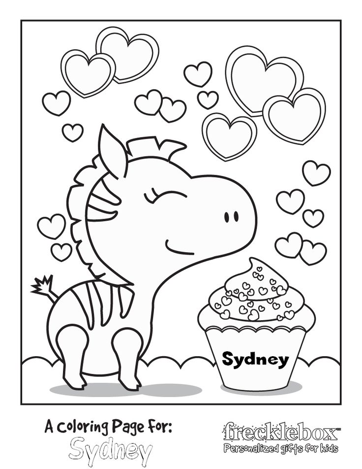 personalized coloring pages - photo#33