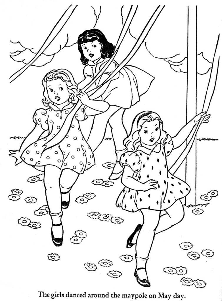 free may day coloring pages - photo#6