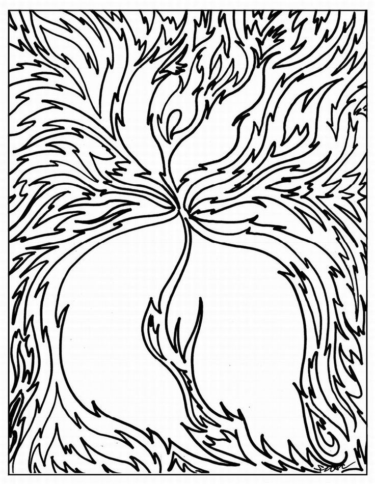 coloring pages abstract art - photo#29