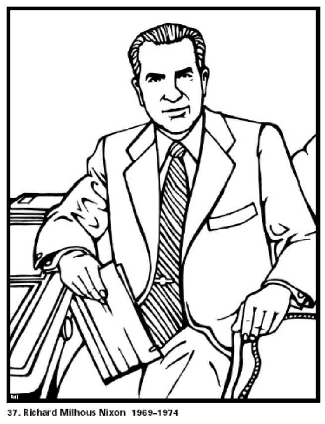 president coloring pages - photo#29