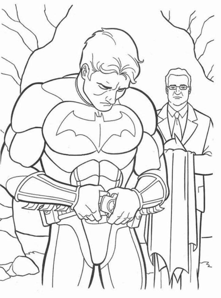 Batman images to print coloring home for Batman coloring pages pdf