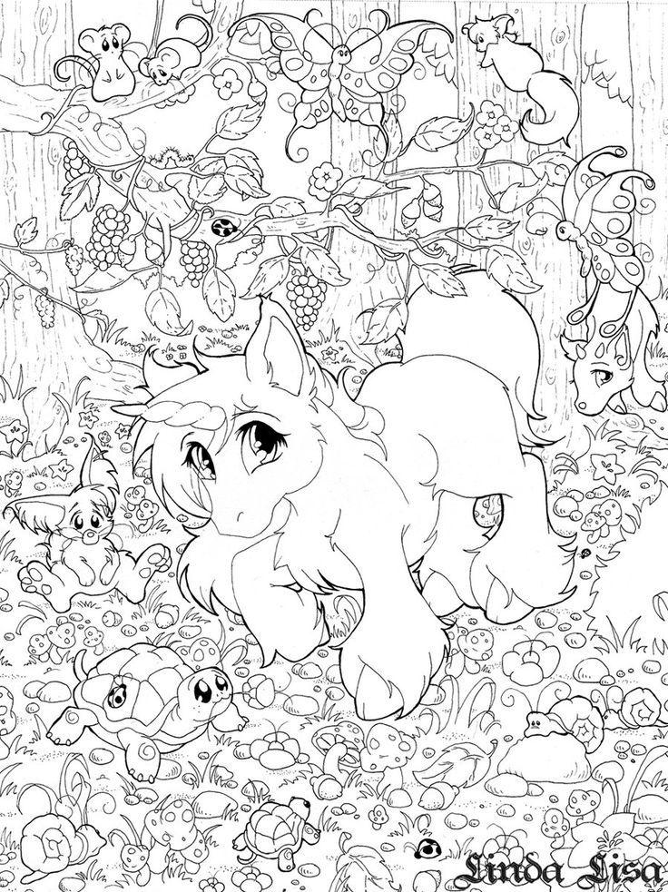 Lisa Frank Coloring Pages To Print - Coloring Home