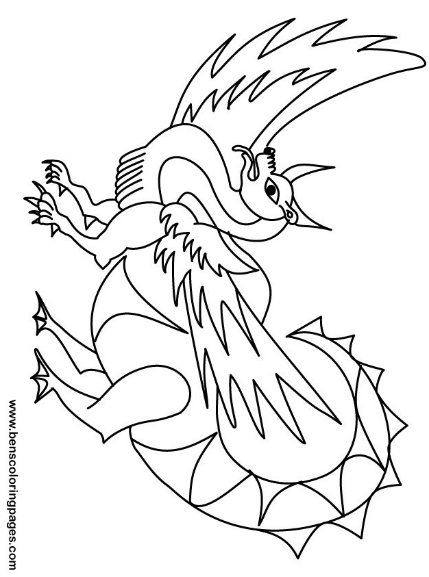 dragon coloring pages for kids az coloring pages