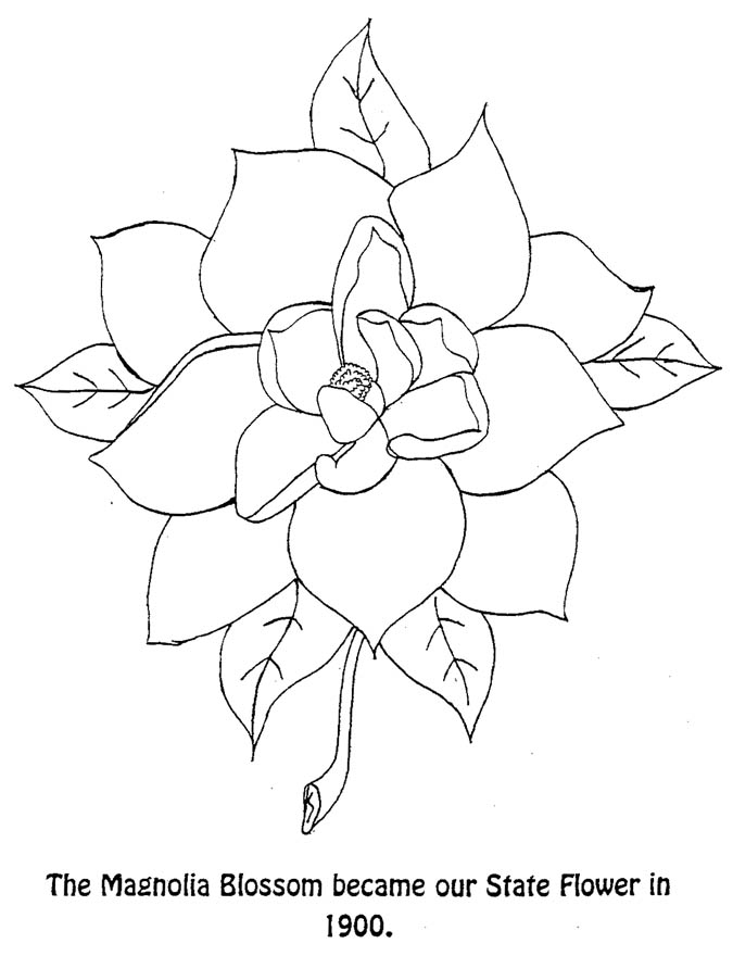 louisiana flag coloring pages - photo#14