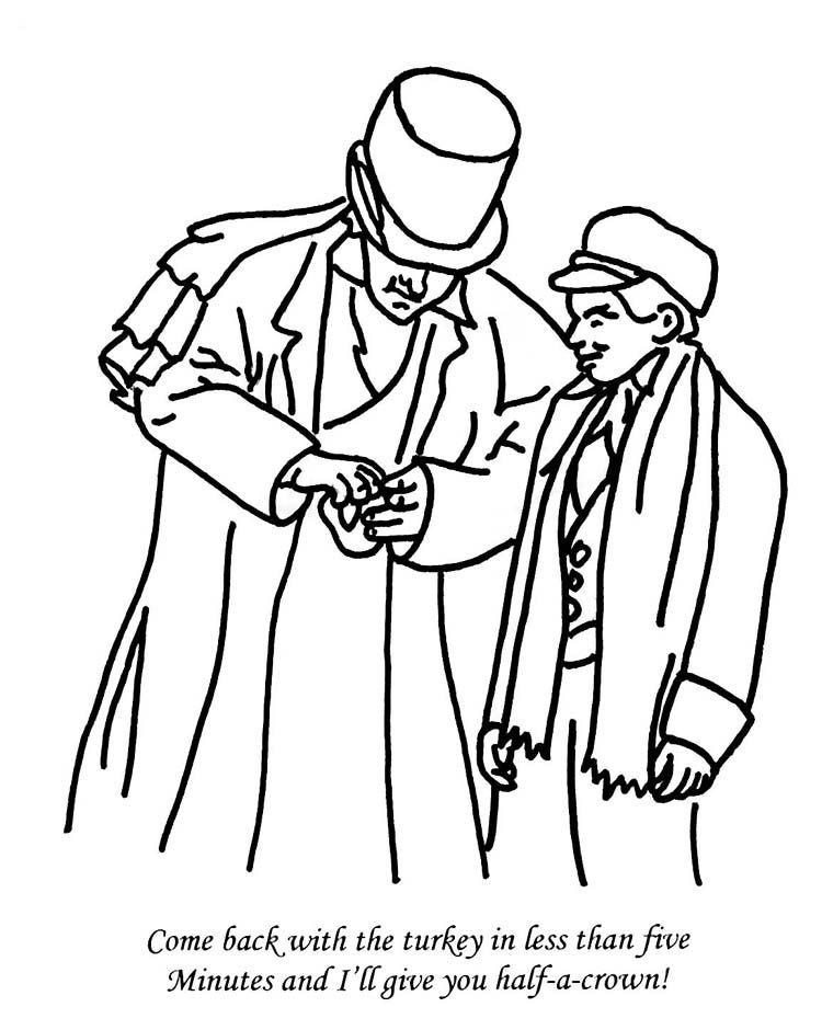 Christmas Carol Coloring Pages Coloring Home Carol Coloring Pages