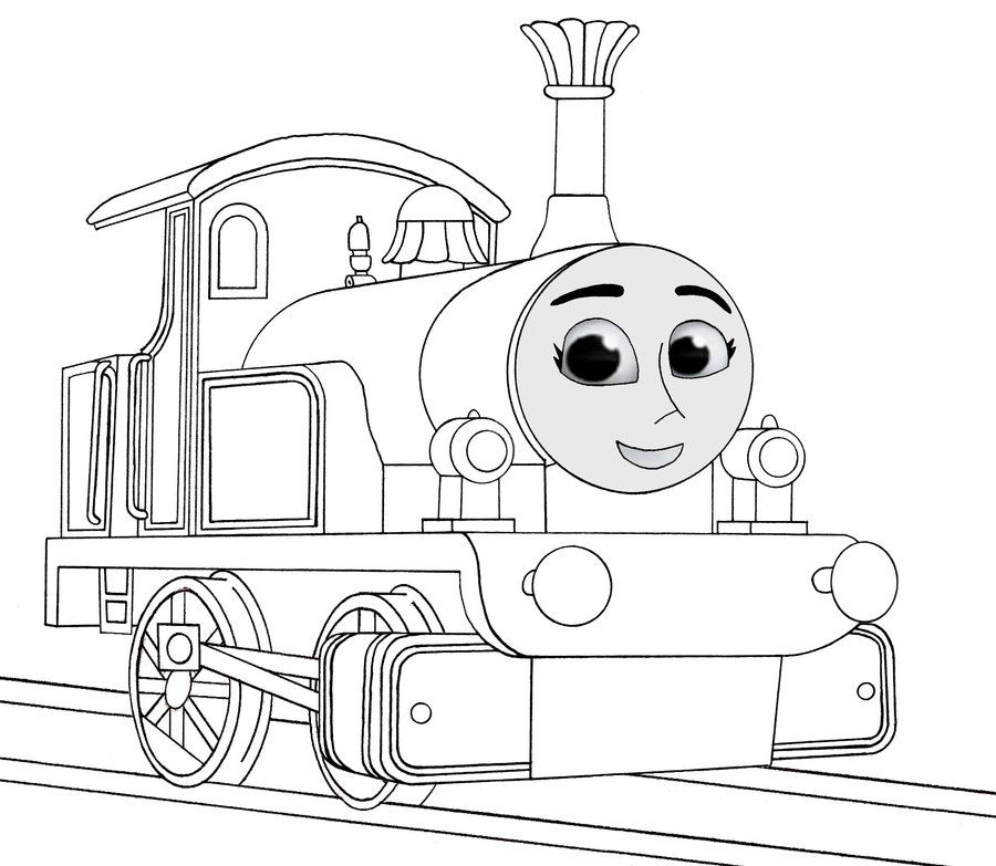 thomas and friend coloring pages - photo#12