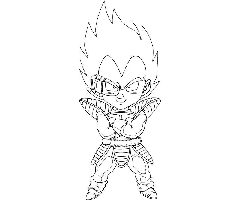 Vegeta Coloring Pages Coloring