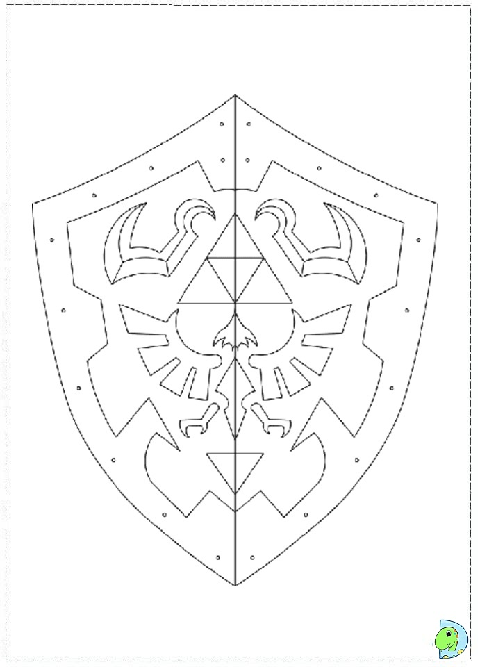 The Legend of Zelda Coloring page