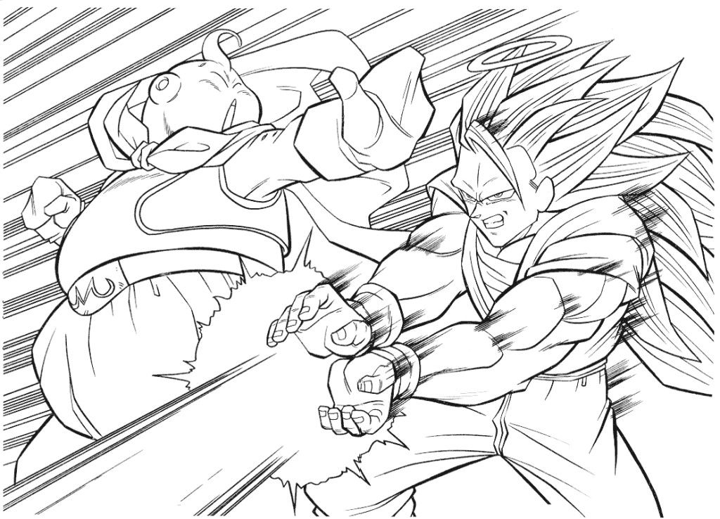 Dragons in Color Dragon Ball Coloring Pages