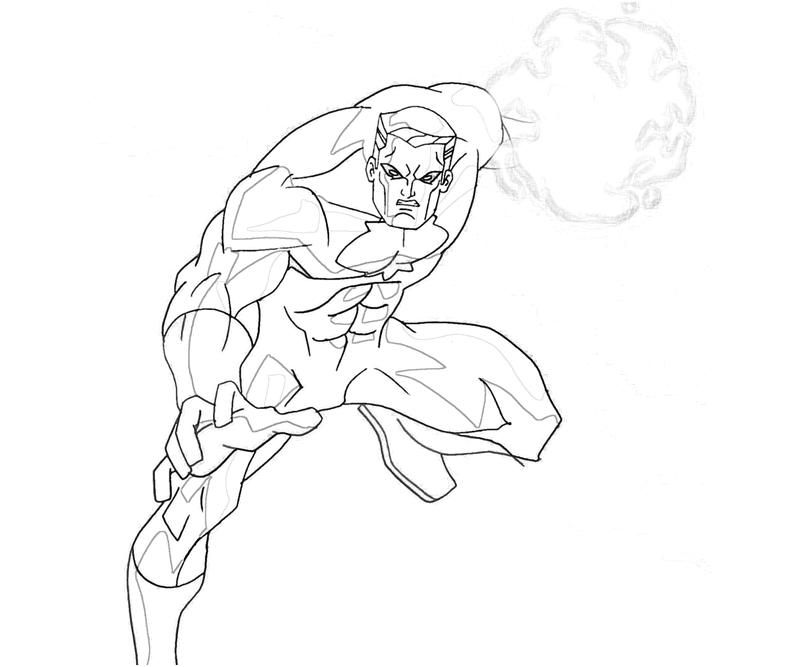 Marvel Universe Coloring Page