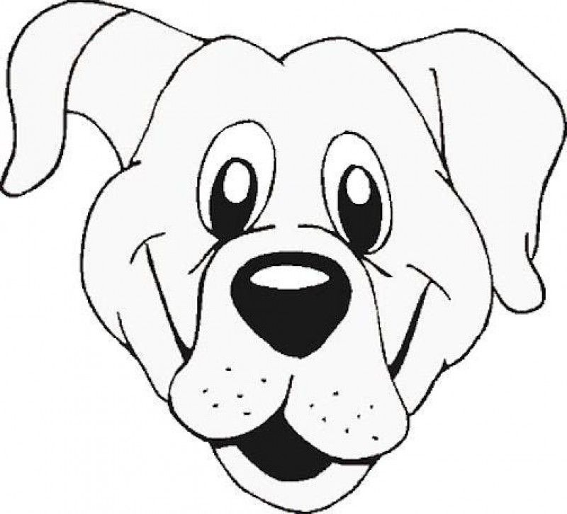 Dog Faces Coloring Pages Dog Face Paint hd Printable