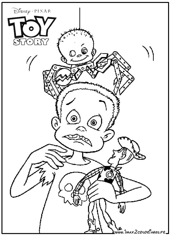 Toy Story 2 Pictures Az Coloring Pages Story 2 Coloring Pages