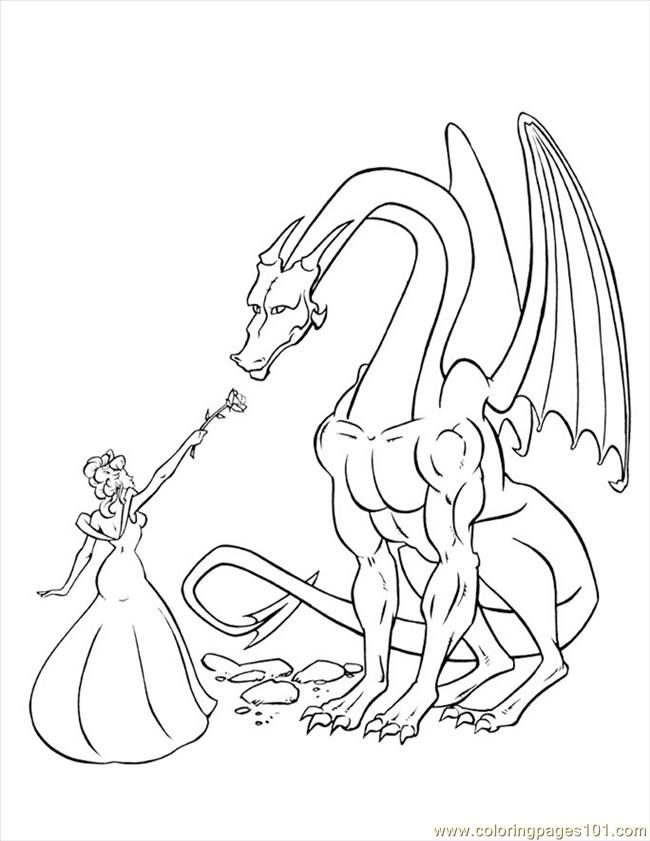 Dragon Coloring Pages Pdf : Disney dragon colouring pages coloring home