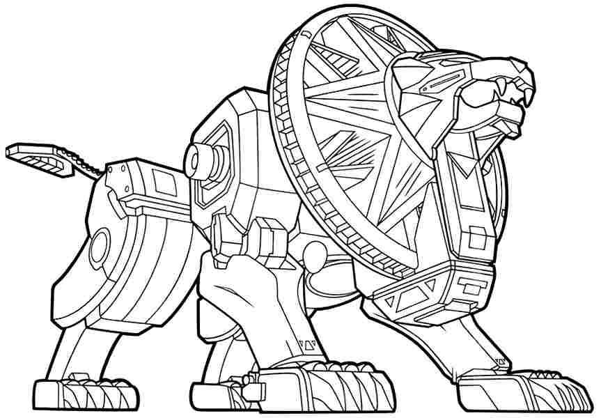 Coloring Sheets Movie Power Rangers Printable Free For