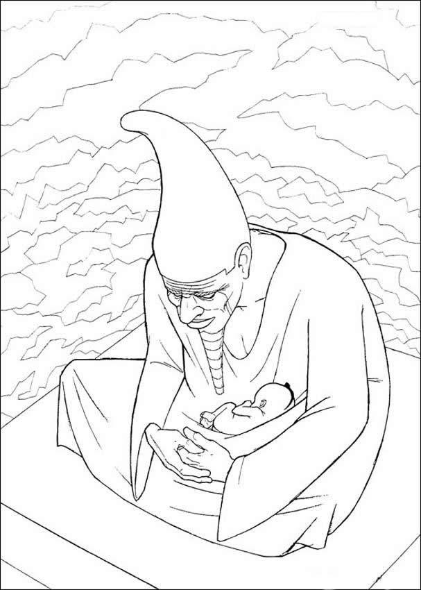 kirikou coloring pages - photo#6