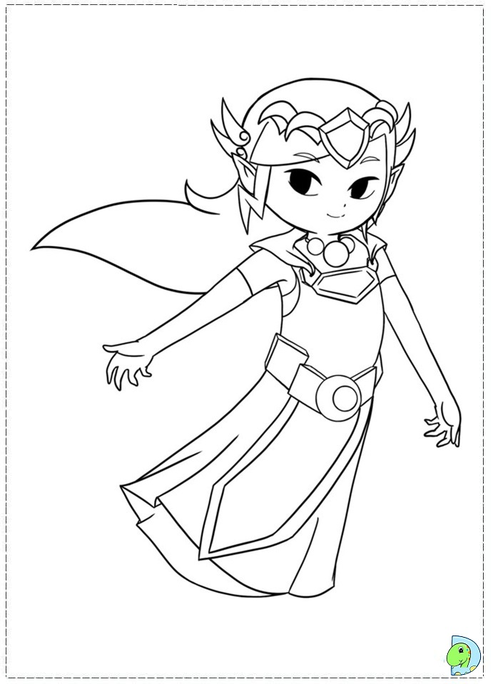 free zelda online coloring pages - photo#10