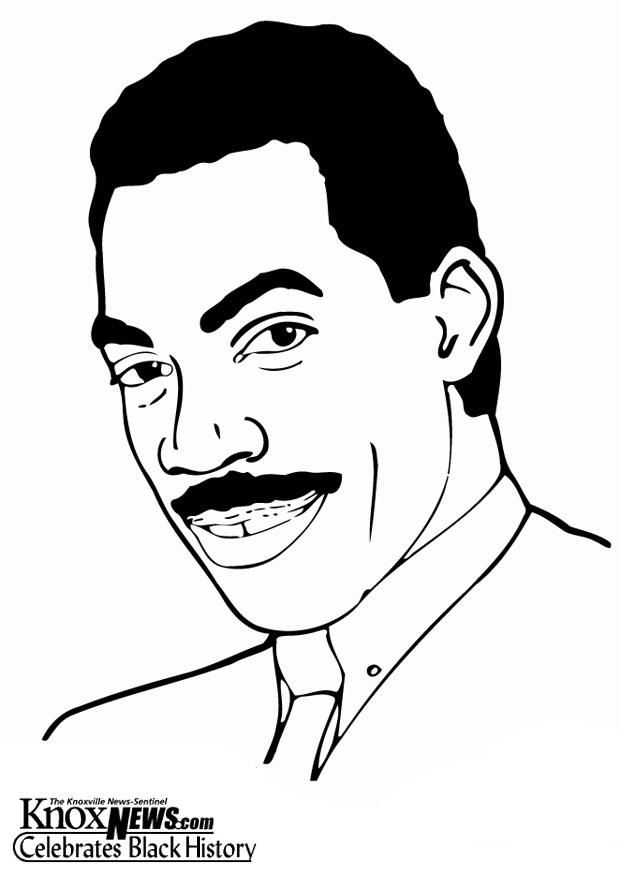Coloring page Eddy Murphy - img 12866.