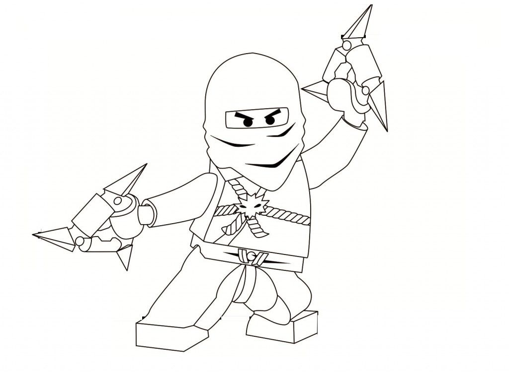 Ninja Coloring Pages For Kids Printable | Coloring Pages For Kids