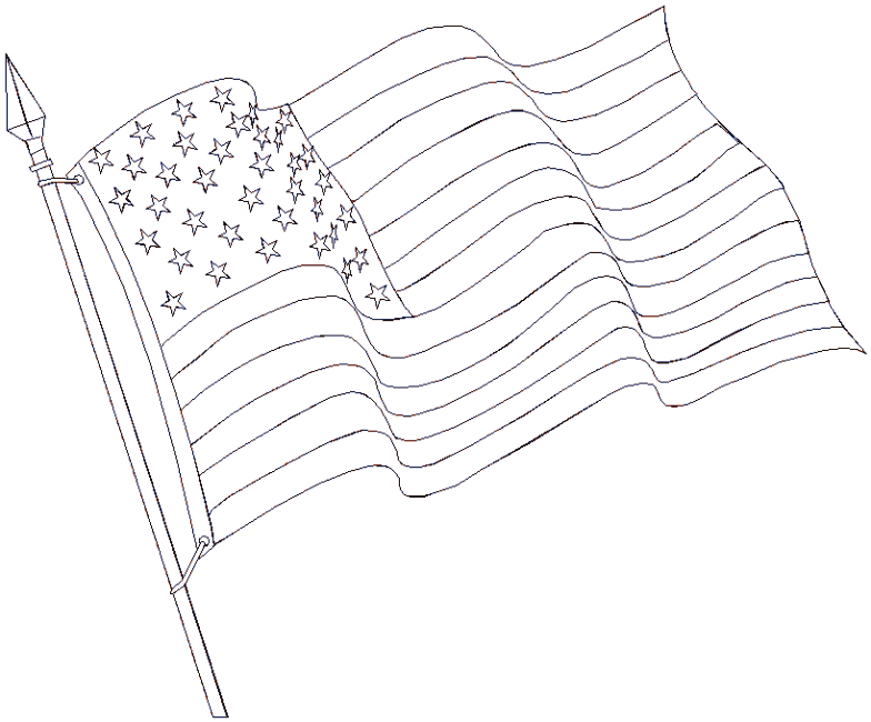 United States Flag Printable