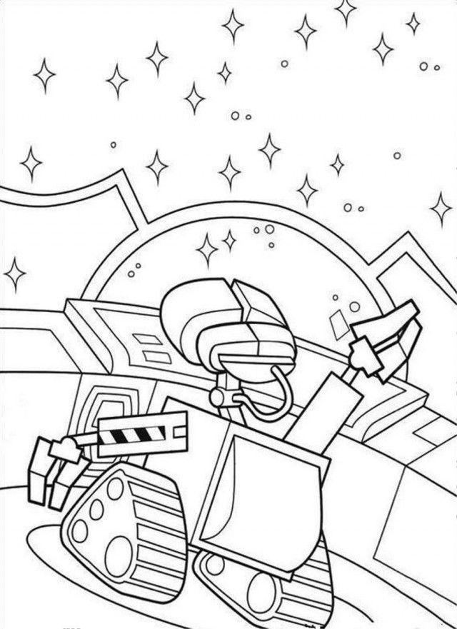 Walle Coloring Pages To Print Coloring Home