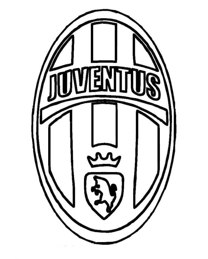 Print Juventus Logo Soccer Coloring Pages Or Download Juventus Coloring Home