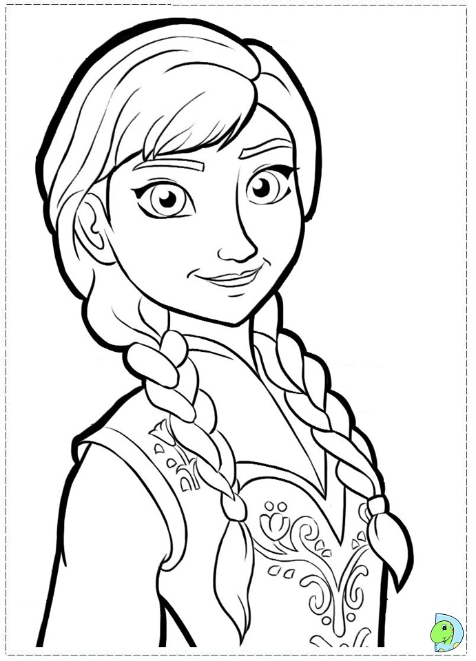 Free Coloring Pages For Toddlers Disney : Best disney frozen coloring pages kids colouring