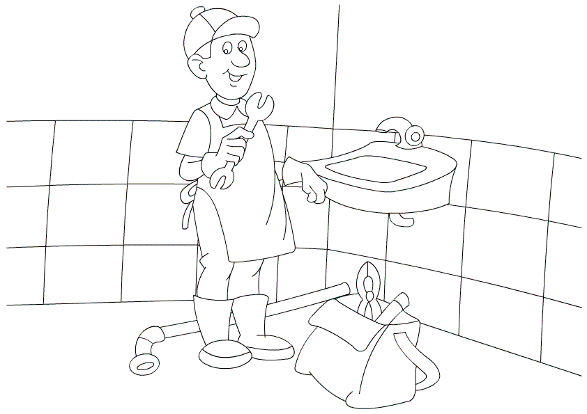 career day coloring pages coloring home. Black Bedroom Furniture Sets. Home Design Ideas