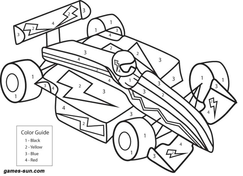 Drawings Of Race Cars For Kids Images & Pictures - Becuo