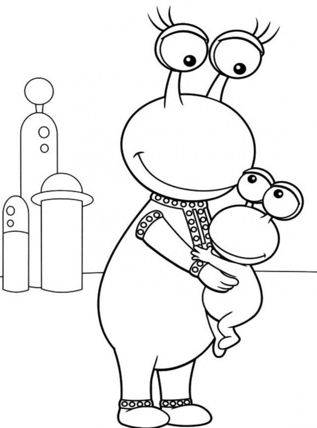 backyardigans coloring page coloring home