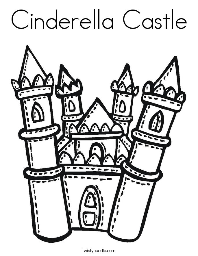 castle coloring pages - photo#42