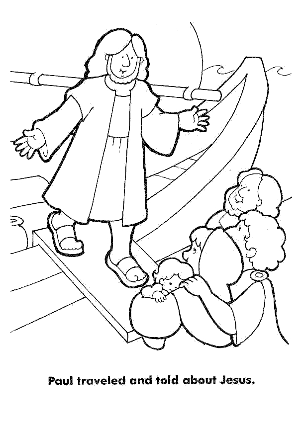 paul coloring pages - barnabas and paul coloring pages az coloring pages