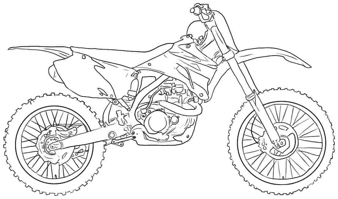 Printable Motorcycle Pictures
