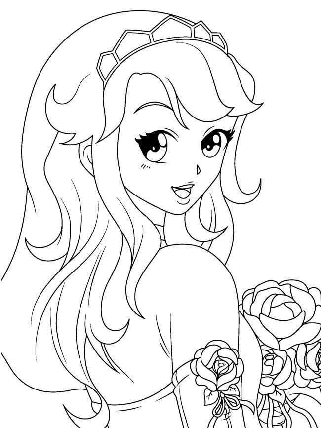 Manga Coloring Pages Coloring Pages Coloring Home Anime Coloring Pages For Free