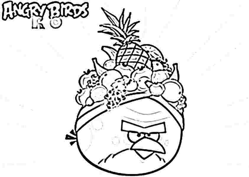 Desenhos Para Pintar Angry Birds: Coloring Pages For Birds