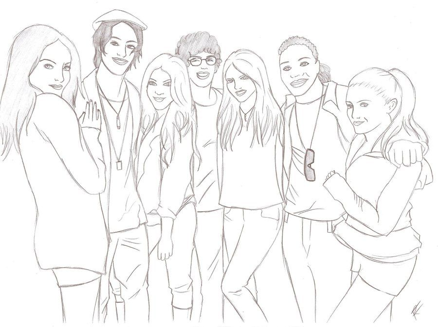 big time rush coloring pages - photo#7