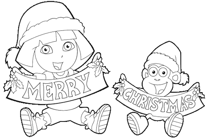 nick christmas coloring pages - photo#10